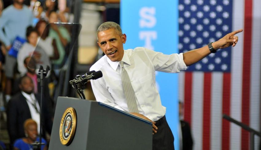 Obama Walking Tour Chicago