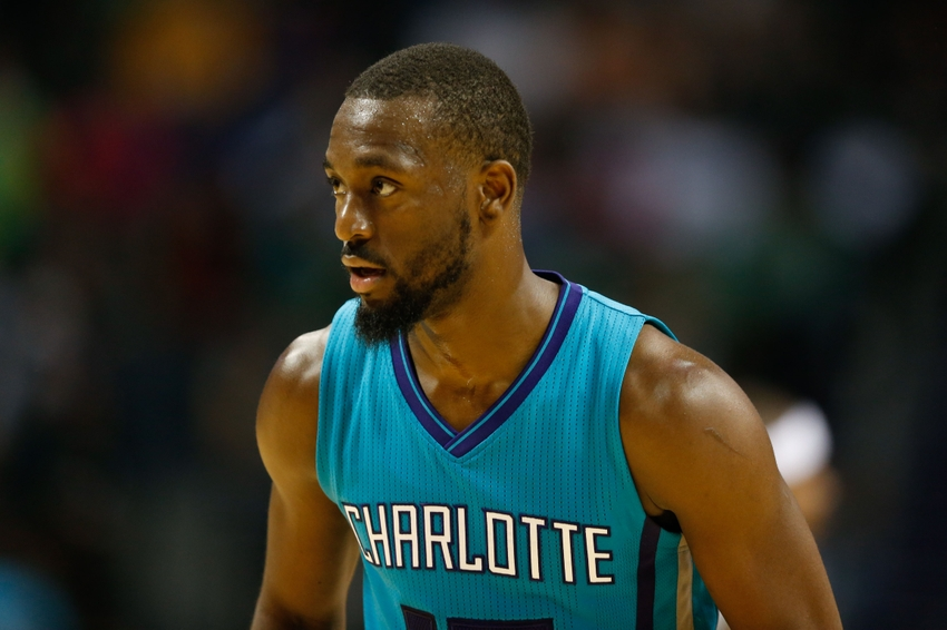 Feel the Buzz: Charlotte Hornets guard Kemba Walker (15) Andre. Mandatory Credit: Jeremy Brevard-USA TODAY Sports