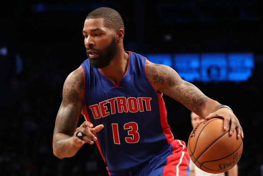 Can Detroit Pistons forward Marcus Morris (13) have another big revenge game in Phoenix? Find out what I think in my DraftKings daily picks of this Wednesday. Mandatory Credit: Anthony Gruppuso-USA TODAY Sports