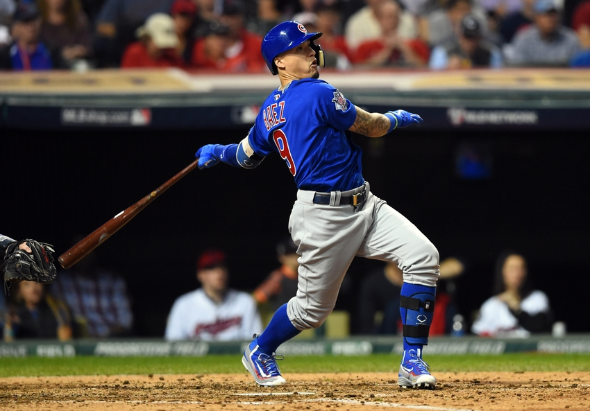 Javier Báez extends lead with homer in Game 7 (Video)