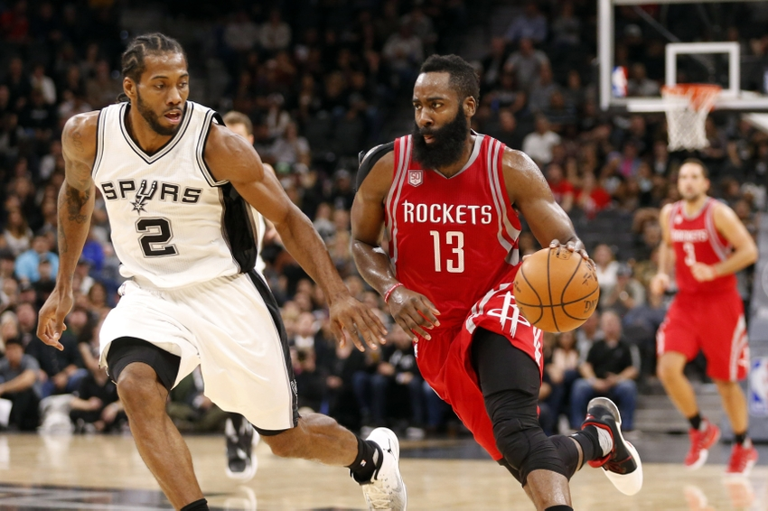 Houston Rockets shooting guard James Harden (13) is in my FanDuel daily picks. Mandatory Credit: Soobum Im-USA TODAY Sports
