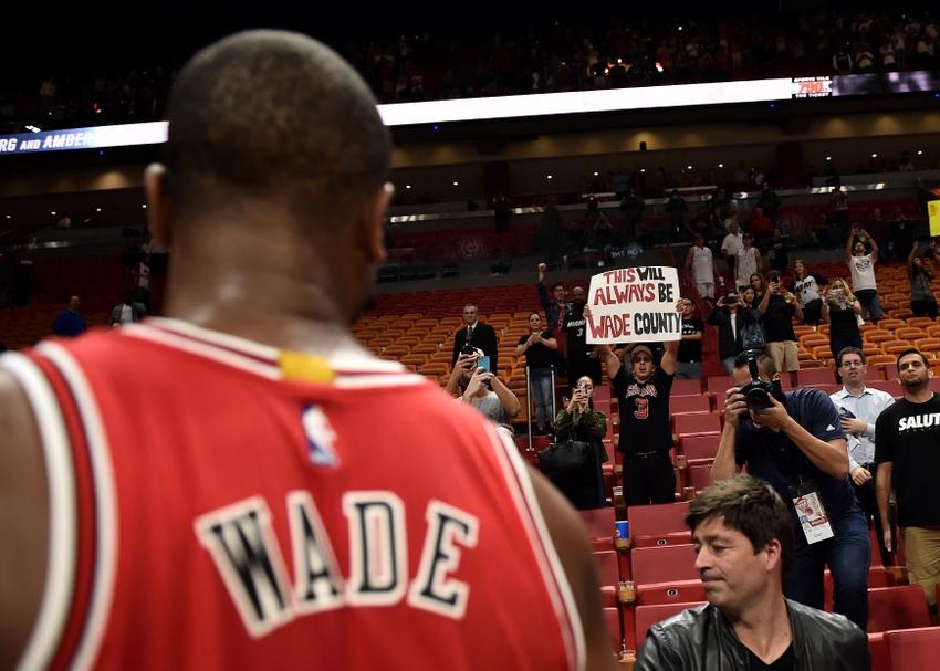 Heat give Dwyane Wade touching tribute in return to Miami