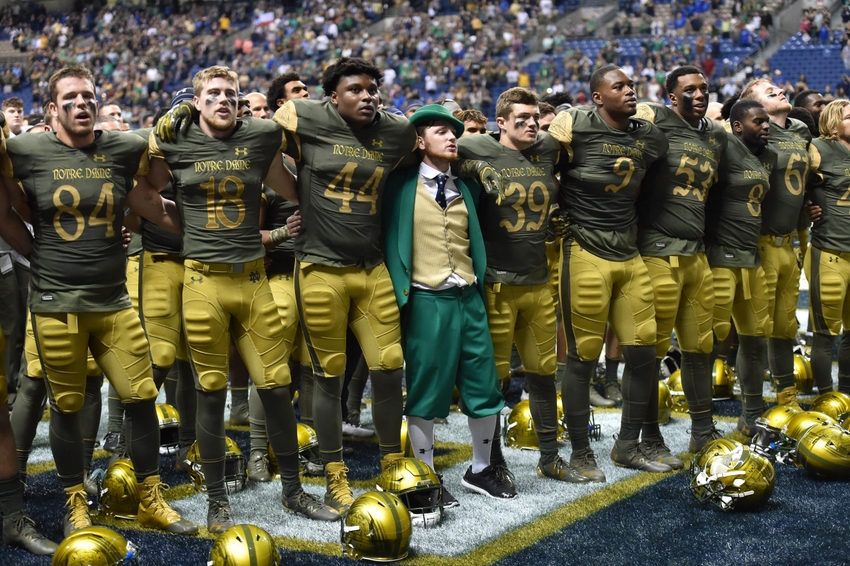 college football game times today what is the score of the notre dame game