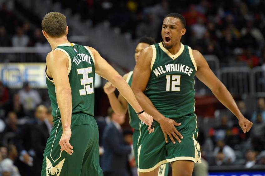 Milwaukee Bucks forward Jabari Parker (12) is in my FanDuel daily picks for tonight. Mandatory Credit: Dale Zanine-USA TODAY Sports