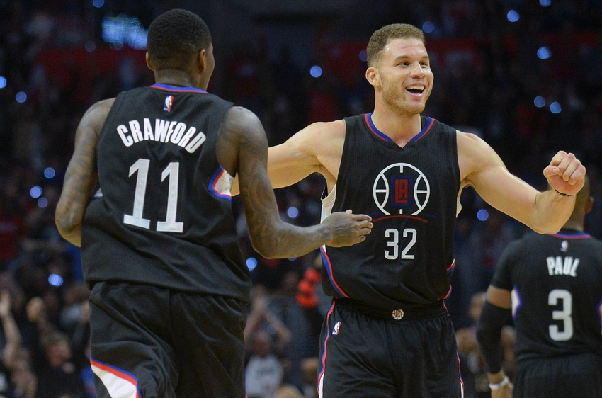 Los Angeles Clippers forward Blake Griffin (32) is in my FanDuel daily picks again today. Mandatory Credit: Gary A. Vasquez-USA TODAY Sports