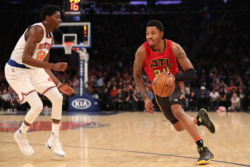 Atlanta Hawks forward Kent Bazemore (24) is in my DraftKings daily picks. Mandatory Credit: Anthony Gruppuso-USA TODAY Sports