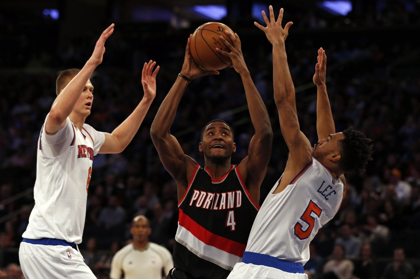Portland Trail Blazers forward Maurice Harkless (4) is in my DraftKings daily picks for today. Mandatory Credit: Adam Hunger-USA TODAY Sports