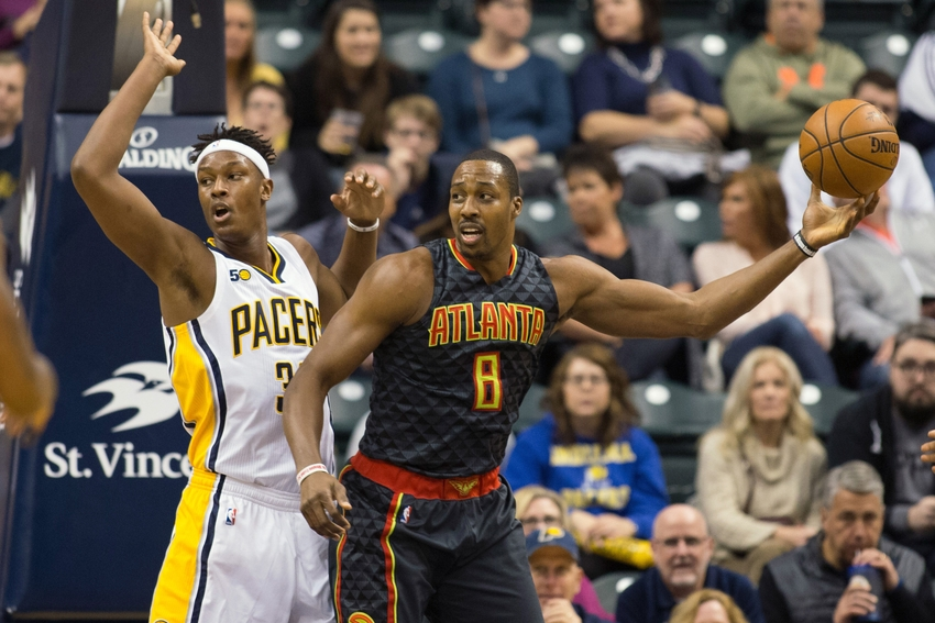 Atlanta Hawks center Dwight Howard (8) is in my DraftKings daily picks for today. Mandatory Credit: Trevor Ruszkowski-USA TODAY Sports