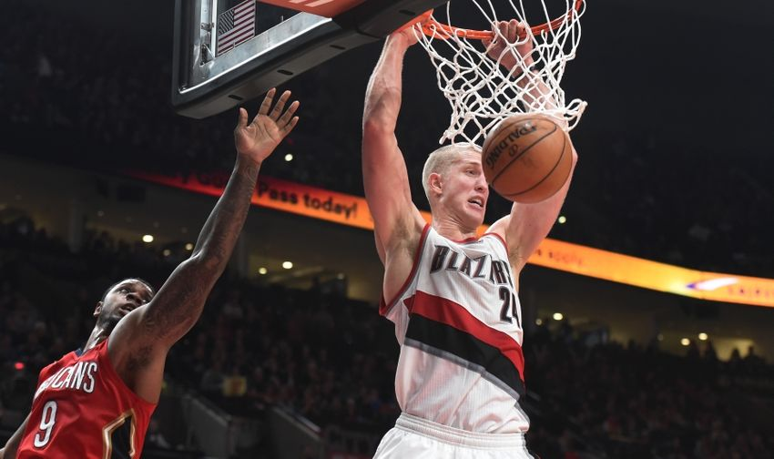 Portland Trail Blazers center Mason Plumlee (24) is in my DraftKings daily picks for today. Mandatory Credit: Steve Dykes-USA TODAY Sports