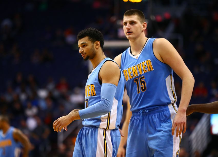 Denver Nuggets forward Nikola Jokic (15) is in my FanDuel daily picks for today. Mandatory Credit: Mark J. Rebilas-USA TODAY Sports