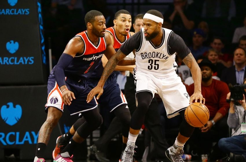 Brooklyn Nets forward Trevor Booker (35) is in my DraftKings daily picks. Mandatory Credit: Andy Marlin-USA TODAY Sports