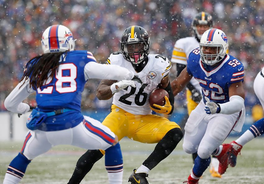 Le'Veon Bell, Pittsburgh Steelers run over Miami Dolphins 30-12