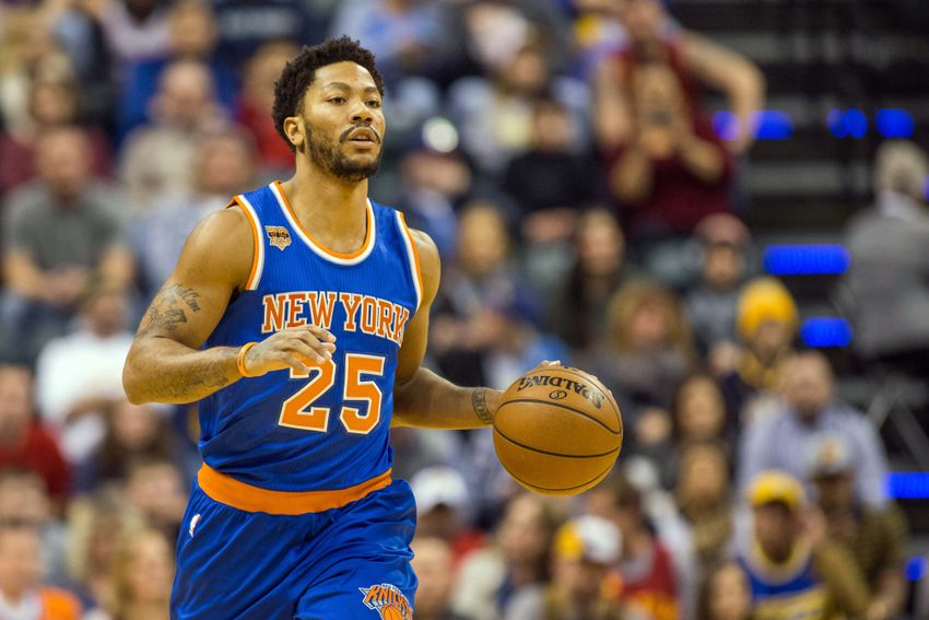 Knicks continue to out-Knicks themselves with Derrick Rose Amtrak ad