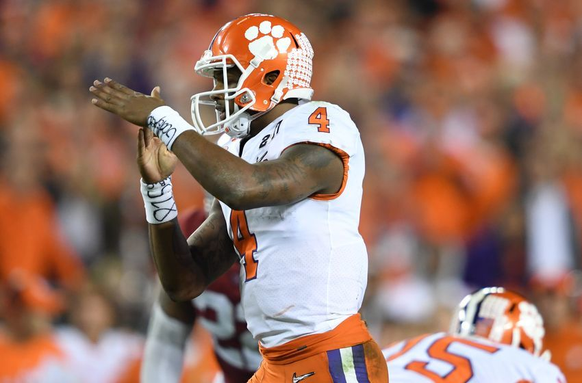 College Football Playoff Snubs >> Clemson quarterback Deshaun Watson declares for 2017 NFL Draft