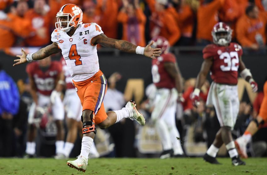 ncaa fooball score of national championship game