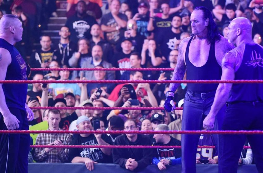 WWE Royal Rumble...Undertaker 2017 Bullying