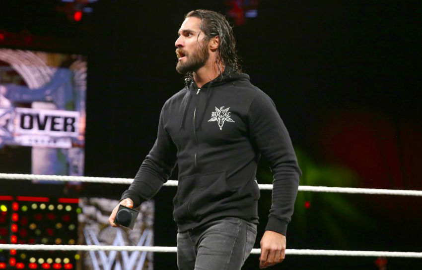 Seth Rollins could be taking some time away from WWE with a knee injury.