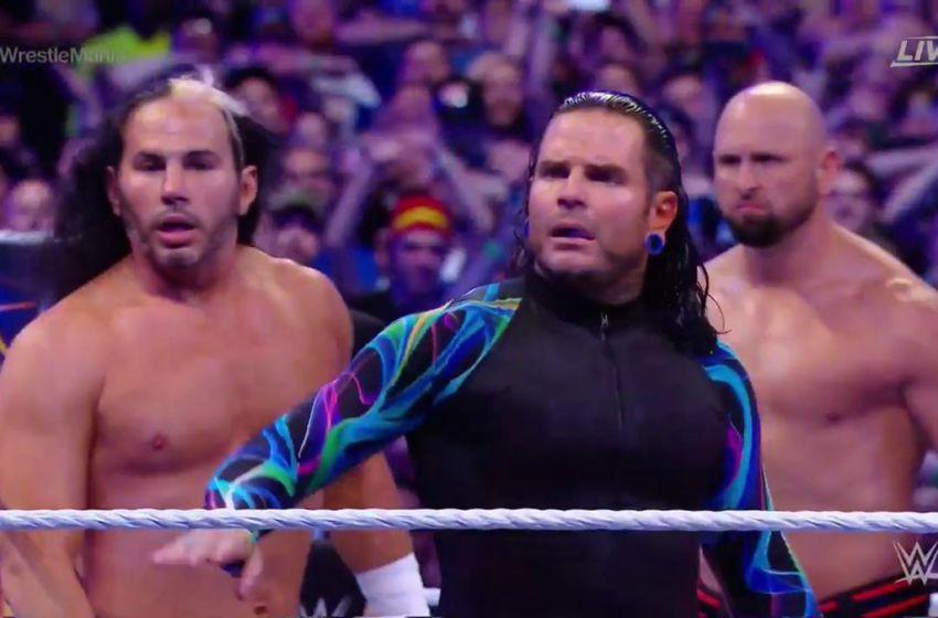 Jeff and Matt Hardy return at WWE WrestleMania 33 (Video)