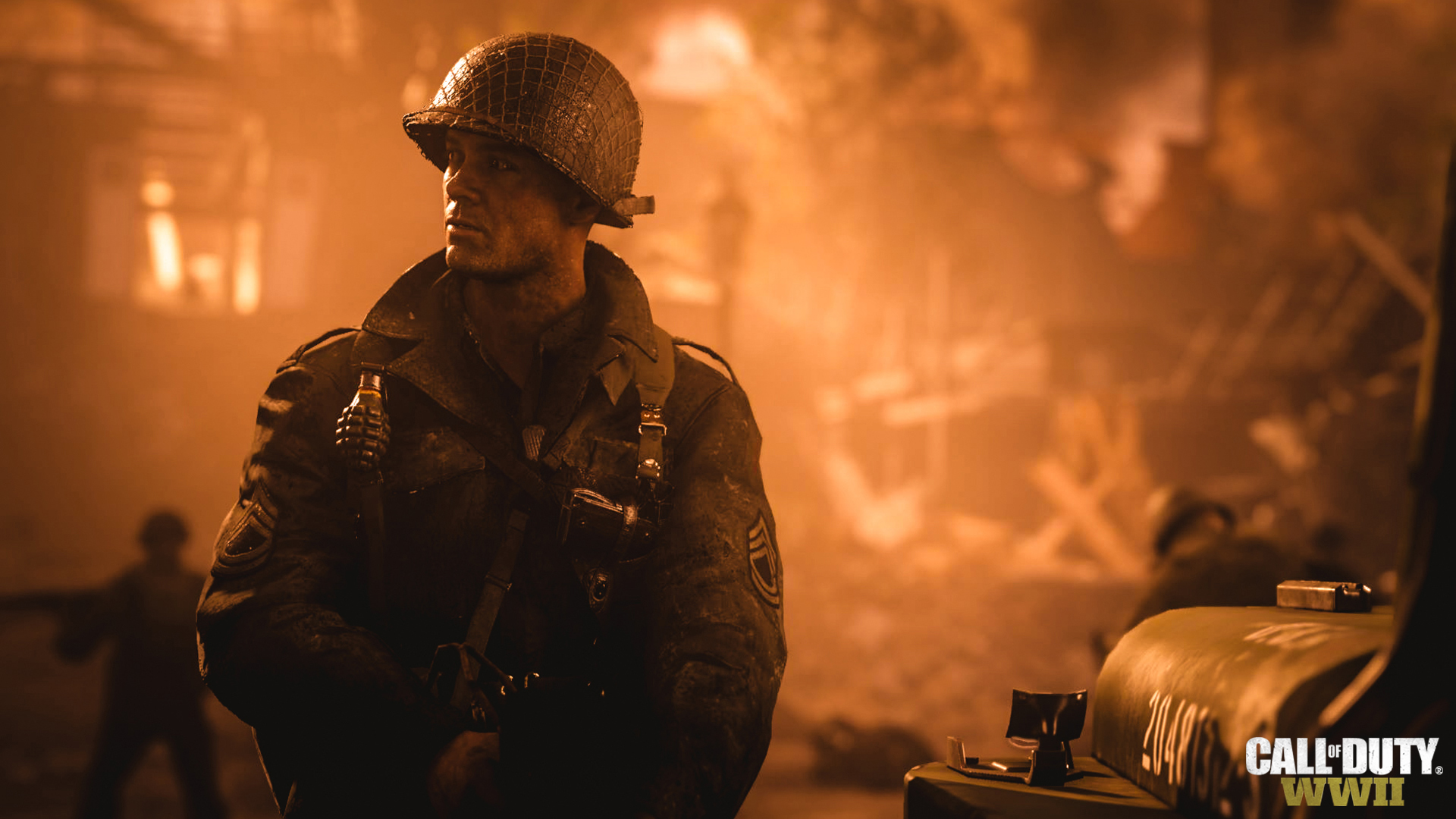 Call of Duty: WWII announced with new trailer