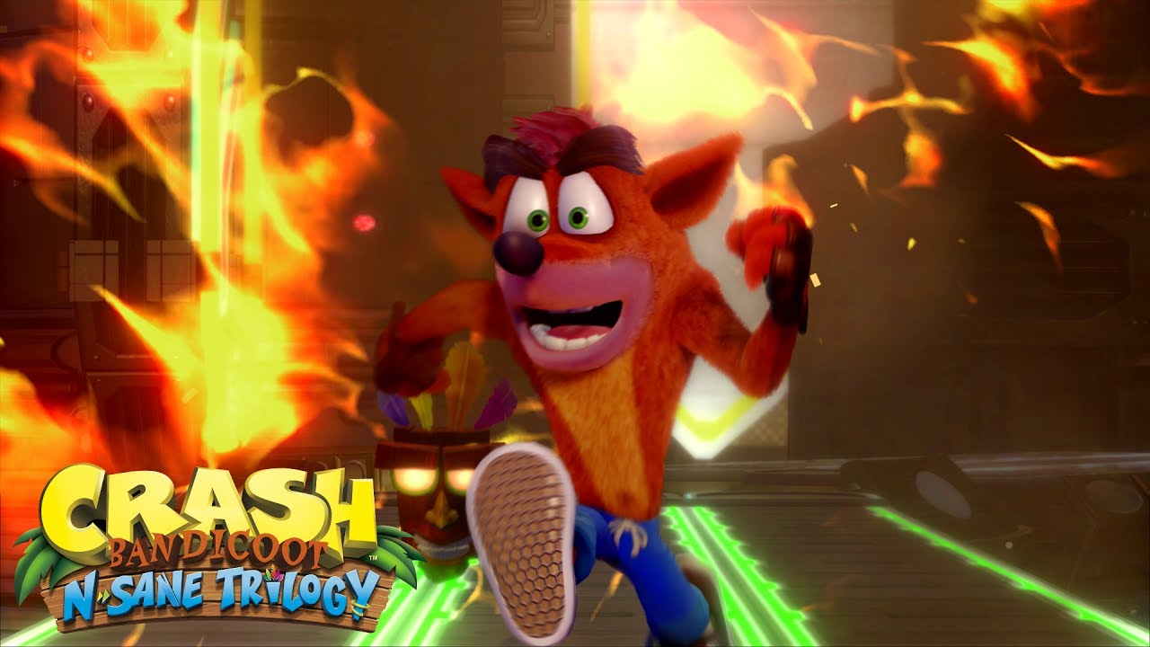 E3 2017: New Crash Bandicoot N. Sane Trilogy trailer