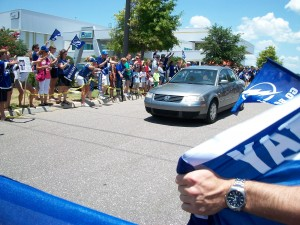 Fans rally to support The Lightning during the EFC in Tampa.