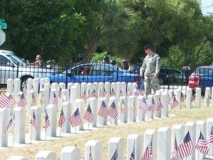 Veteran's Graves At The American Legion Cemetery Photo Taken By: Dolly Reynolds-Dolce
