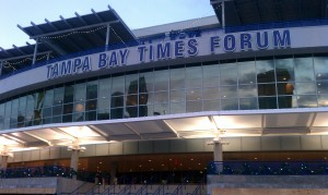 Tampa Bay Times Forum By: Tasha Meares