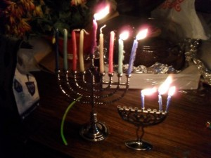 Hanukkah Menorahs By Dolly Dolce