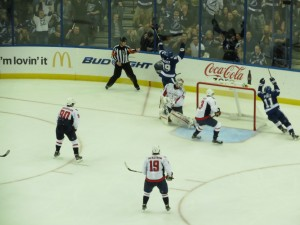 2013 Home Opener VS Washington Capitals - Cory Conacher scores his first goal by: Dolly Dolce