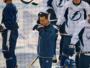 Tampa Bay Lightning Training Camp -By Dolly Dolce