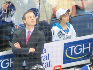 Jon Cooper's first game taken by: Dolly Dolce