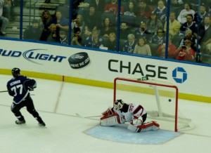 Hedman Shootout Goal taken by Dolly Dolce