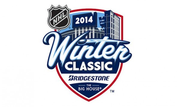Logo of the 2014 Bridgestone Winter Classic Photo Credit: NHL