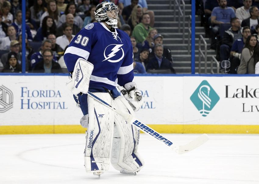 Tampa Bay Lightning Report Cards The Goalies