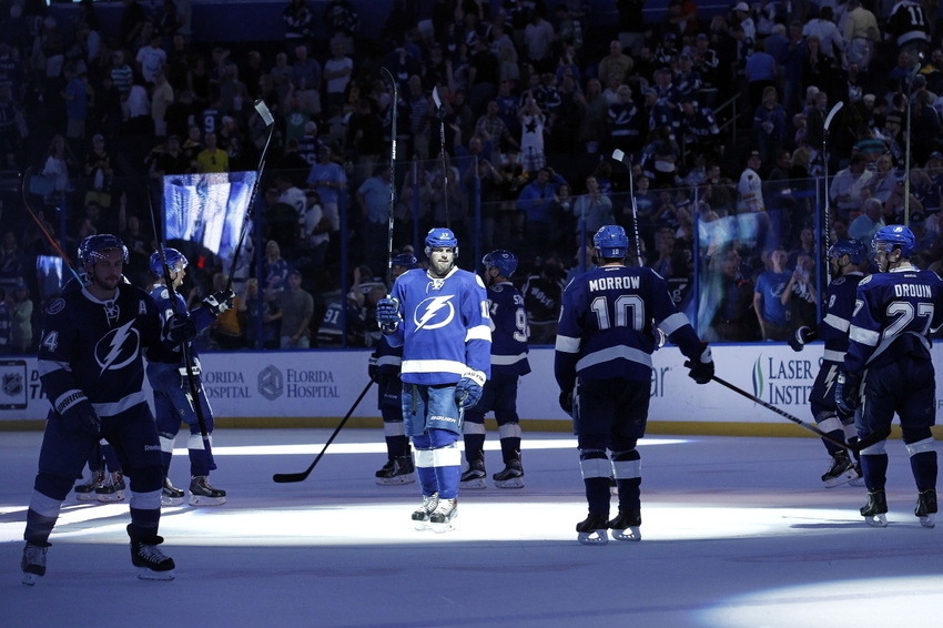when does tampa bay lightning play next