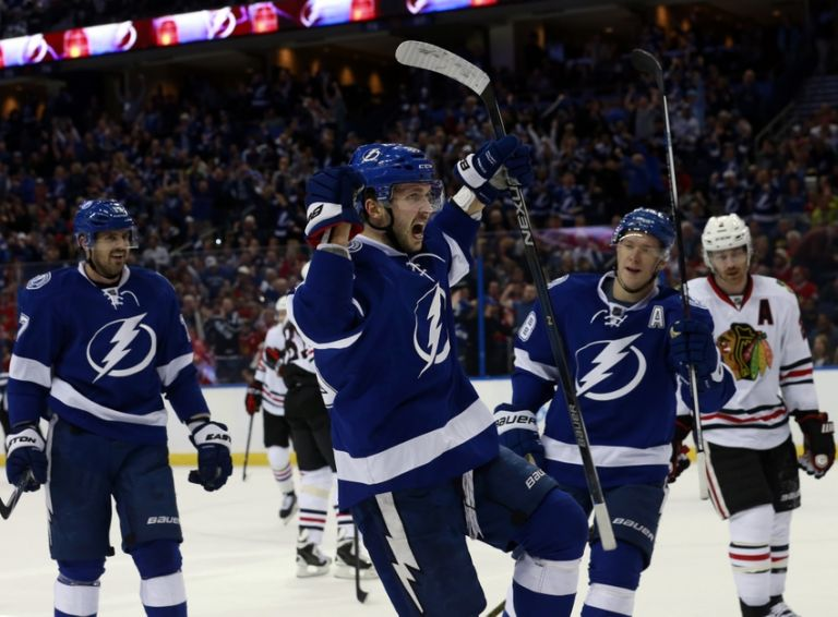 Tampa Bay Lightning Nikita Kucherov Snipes Crawford For PP Goal
