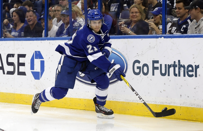 Tampa Bay Lightning F Brayden Point Scores First Ever NHL Goal Video