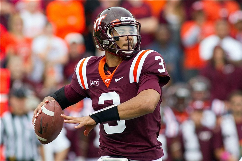 Logan Thomas is ready for this game with Boston College