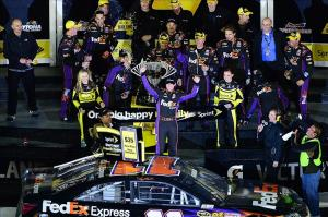 Grubb and Hamlin hope to win the Daytona 500 after a great Speedweeks so far.