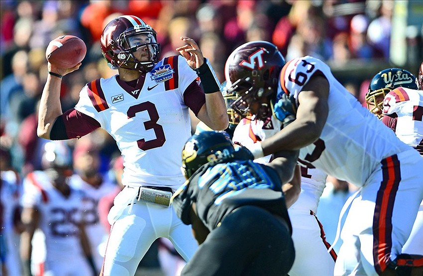 Where will Logan Thomas go in the 2014 NFL Draft?