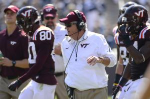 Frank Beamer and the Hokies produced three 2014 NFL Draft picks.
