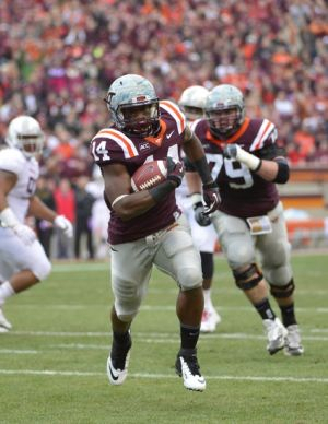 Trey Edmunds can definitely be the next great Hokie running back.