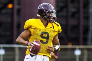 Will Brenden Motley be the starting QB this fall?