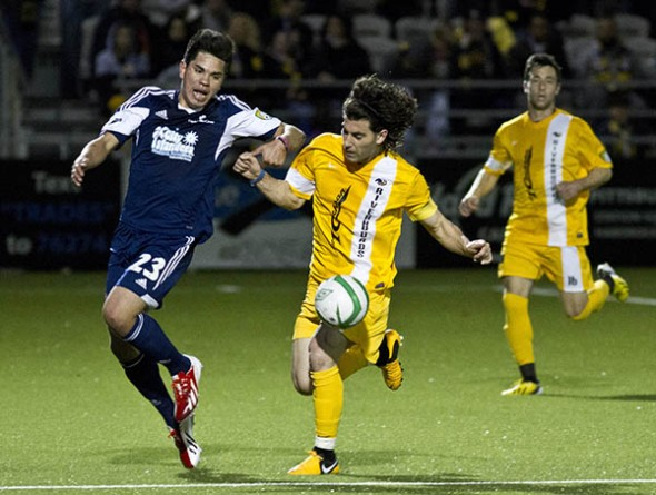 The Riverhounds will play 14 games at Highmark Stadium in their second season on the South Side. (Photo: Riverhounds)