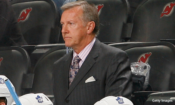 Former NHL coach Ron Wilson is reportedly in the running to head up the Penguins in 2014-15. (Photo: Getty Images)