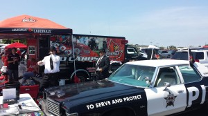 Louisville Football tailgating - Jeremy Cooper and the Blues Brothers!