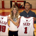 Marisa Miller and Derrick Rose