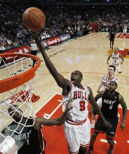Bulls Burn Heat for a 93-89 Victory