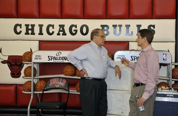 Reinsdorf cares not for the Bulls