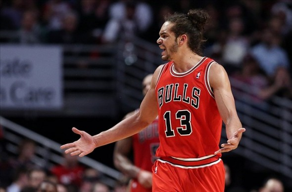 Joakim Noah is confused and angry.